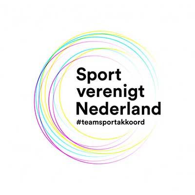 Logo Sport Verenigt Nederland #teamsportakkoord